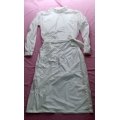 New shiny nylon wet look working coat smock M-3XL