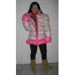 New flower pattern down jacke down coat winter jacket winter coat M - 3XL