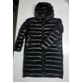 New unisex shiny nylon quilted winter coat wet look puffer down coat DC2002b