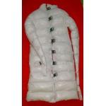 Neu Glanz Nylon Wetlook Winter Zwangsjacke Fessel Zurückhaltung Mantel M - 3XL