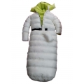 New shiny nylon wet look overfilled sleeping bag winter overalls custom made