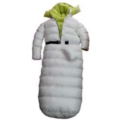 Neu Glanznylon Wet-Look überfüllten Schlafsack Winteroverall maßgeschneiderte