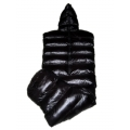 New shiny nylon wet look puffa mummy sleeping bag down sleeping sack custom made