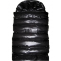 New shiny nylon wet look puffer winter sleeping bag bondage sleeping sack custom made