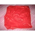 New shiny nylon wet look fitted sheet