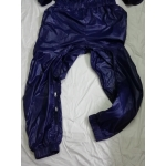 New shiny nylon wet look overalls jumpsuit custom made JS2046-2S