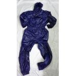 New shiny nylon wet look overalls jumpsuit custom made JS2046-2S