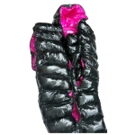 New shiny nylon wet look winter sleeping bag down sleeping sack custom made