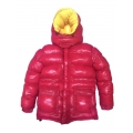 New wet look shiny nylon down jacket winter jacket DC2048-1S