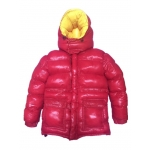 New wet look shiny nylon down jacket winter jacket DC2048-1S