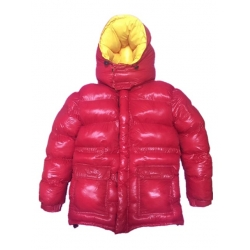Neu Wet-Look glanz Nylon Daunenjacke Winterjacke DC2048-1S