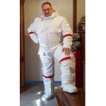 New oxford nylon space suit down overalls bespoke S - 5XL
