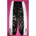 New unisex shiny nylon wet look sport trousers jogging training trousers ST1077