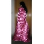 Neu Wet-Look Glanz Satin Daunen Kleid Winterkleid maßgeschneiderte M - 3XL