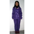 New wet look shiny nylon pajama sleepwear nightwear bespoke M - 3XL