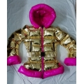New shiny gold down jacke down coat winter jacket winter coat M - 3XL