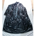 New shiny nylon barber gown wet look salon hair cape