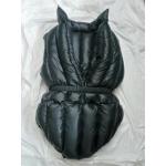 Neu unisex glanz Nylon Wet-Look Adult Baby Windelbody Spielanzug überfüllt M - 3XL