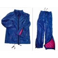 New shiny nylon wet look suit jacket and pants M - 3XL