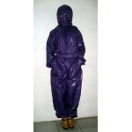 New shiny nylon wet look overalls jumpsuit with mask custom made S - 5XL