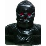 New shiny nylon wet look mask down mask winter mask unisex MK2202b