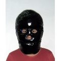 New shiny nylon wet look mask down mask winter mask unisex MK2201b