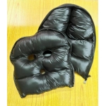 Neu glanz Nylon Wet-Look Maske Daunenmaske Wintermaske MK2203b