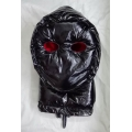New shiny nylon wet look Ninja mask down mask winter mask MK2204b