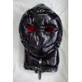 Neu glanz Nylon Wet-Look Ninja Maske Daunenmaske Wintermaske MK2204b
