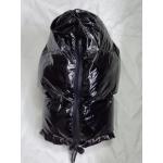 New shiny nylon wet look Ninja mask down mask winter mask MK2204b