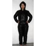 New unisex shiny nylon wet look ski overalls ski suit sport suit bespoke S - 5XL