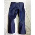 Neu Leder Jeans Hose Freizeithosen