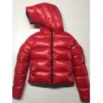 New unisex glossy nylon wet look winter jacket down jacket double-sided wear