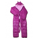Neu unisex glanz Nylon Wet-Look Winteroverall Cosplay Anzug maßgeschneiderte S - 5XL