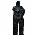 New unisex shiny nylon wet look winter jumpsuit snow suit S - 5XL