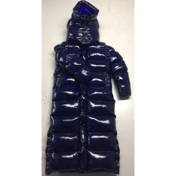 New unisex shiny nylon winter parka down parka wet look winter coat down coat overfilled DC3019-1S